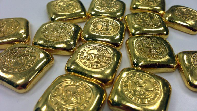 Kupujemy sztabkę złota