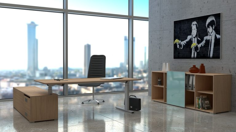 Idealny projekt pomieszczeń biurowych