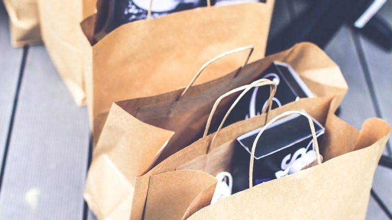 Laminowane torby papierowe